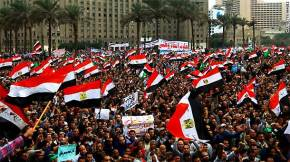 Egyptians take the the square again